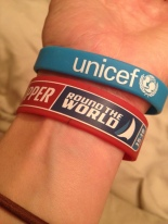 Having various branded wristbands makes it even more official