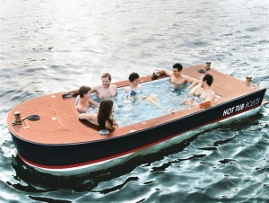 Clipper 70 Post-Jacuzzi installation. Only minor modifications required.