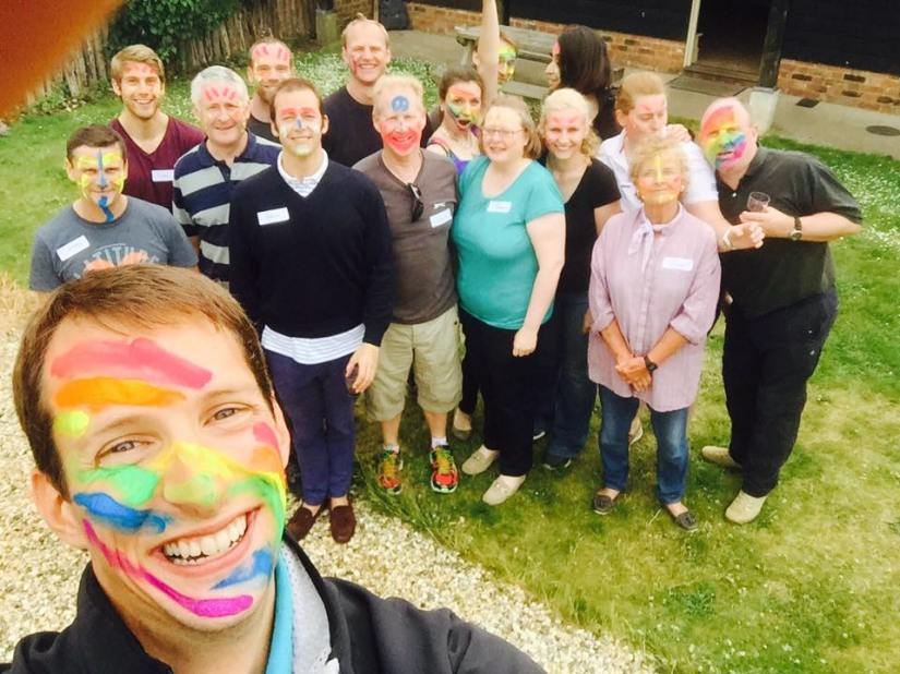 """Team Building Weekend – the """"official"""" writeup"""