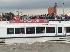 Seattle love on the supporter boats