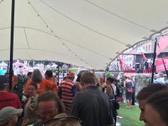 At the Stormhoek Social Spirit Party - very swish